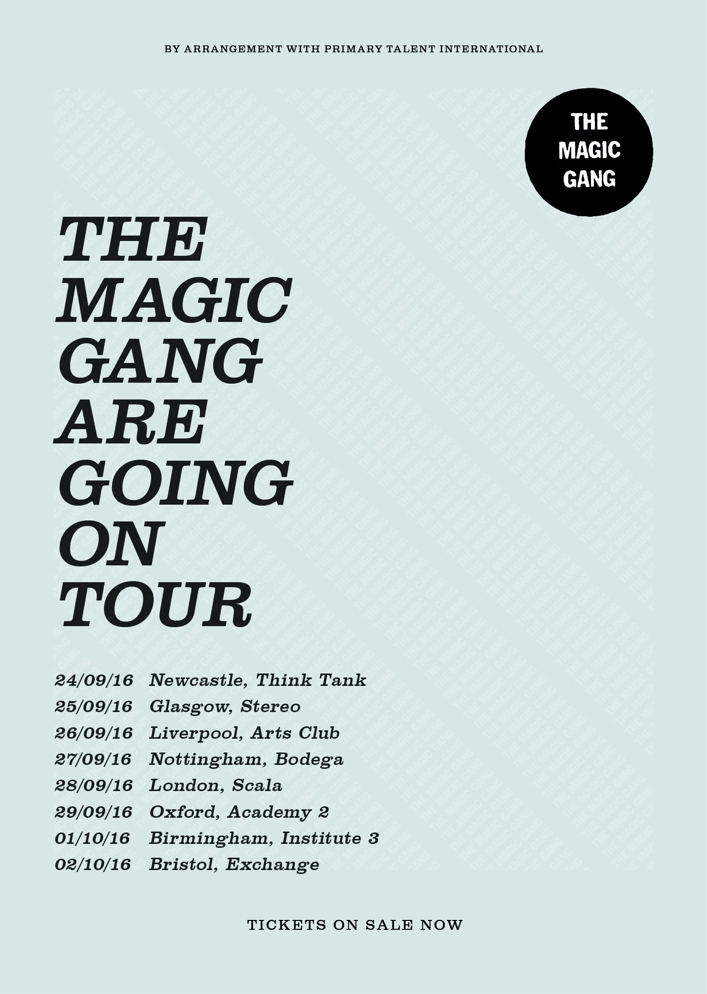 magic gang tour